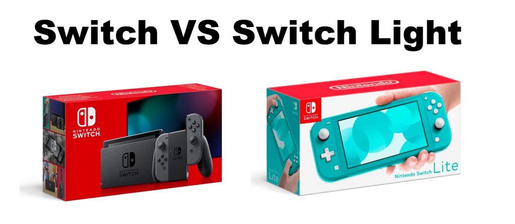 Switch Vs Switch light